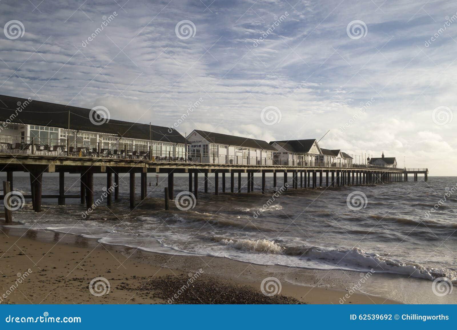 英国码头southwold萨福克