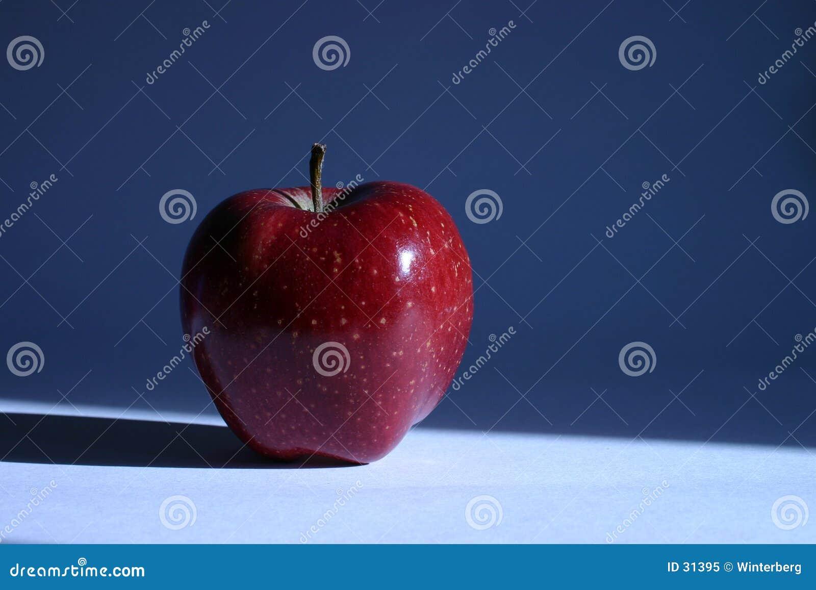苹果我红色