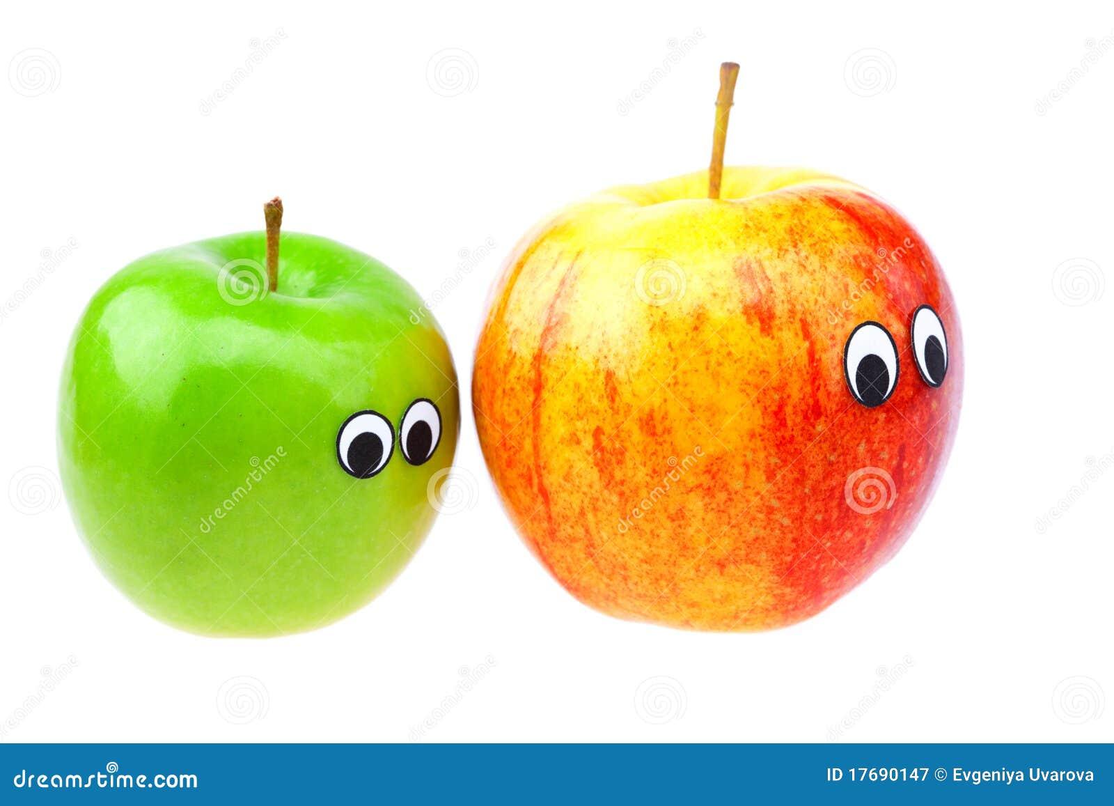 苹果眼睛表面查出白色