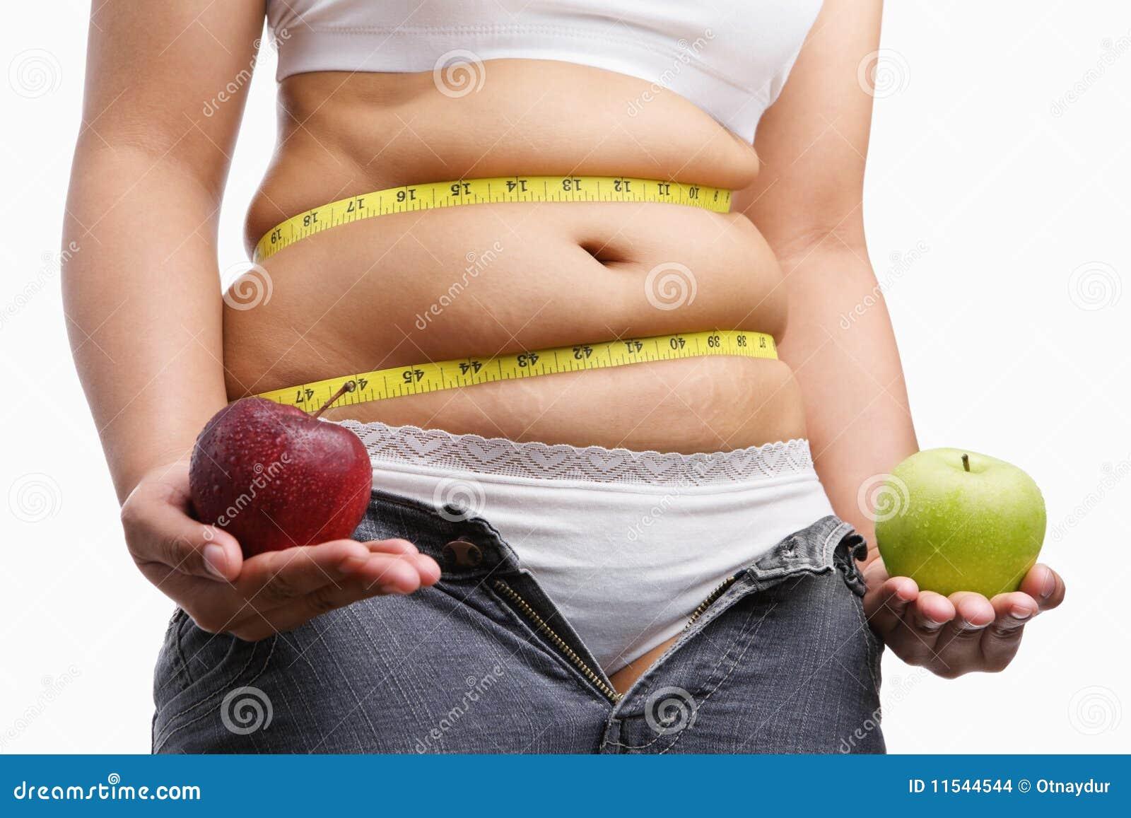 苹果肥胖藏品牛仔裤解妇女压缩