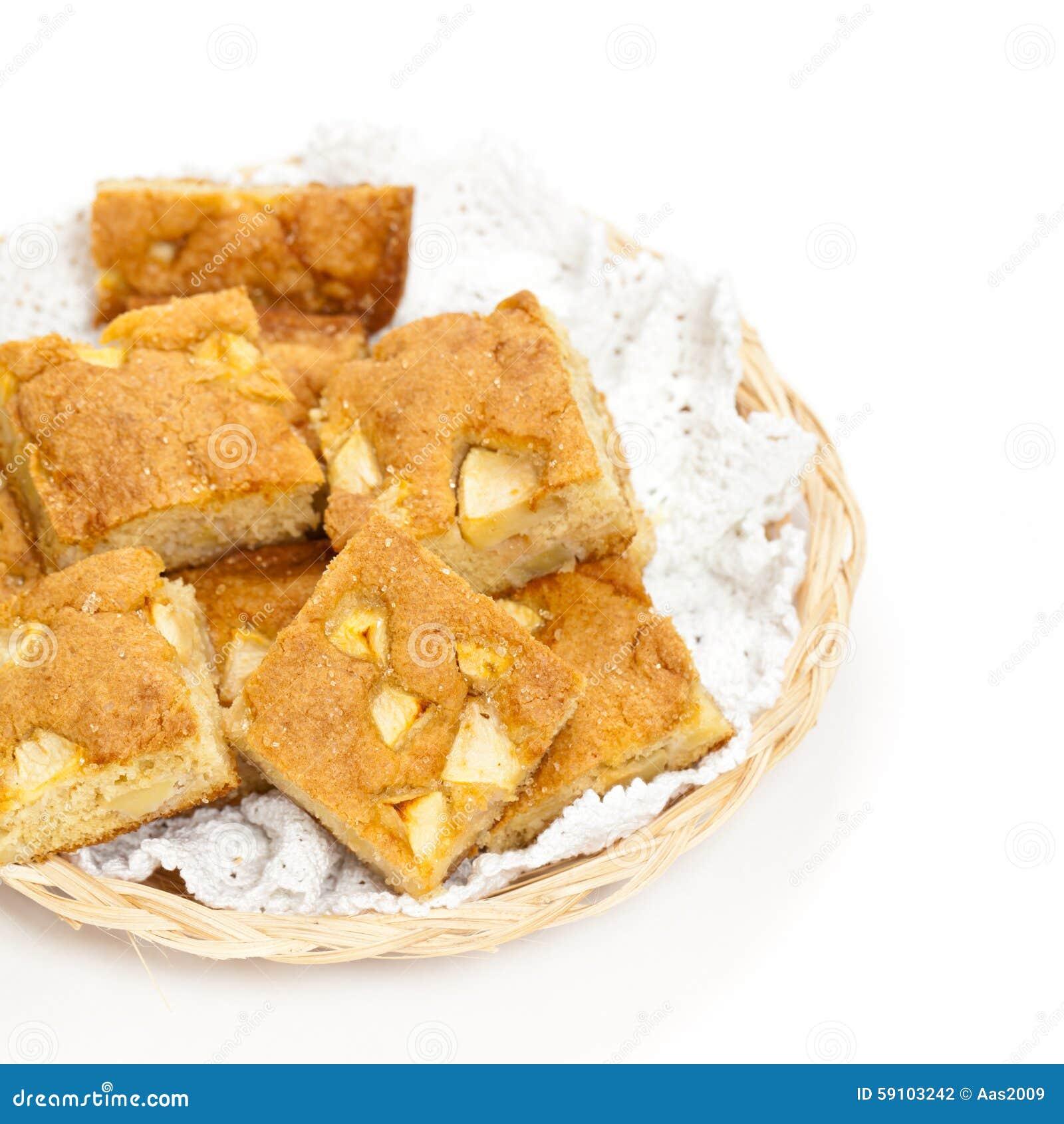 苹果背景烘烤特写镜头藏品查出显示白人妇女的饼红色