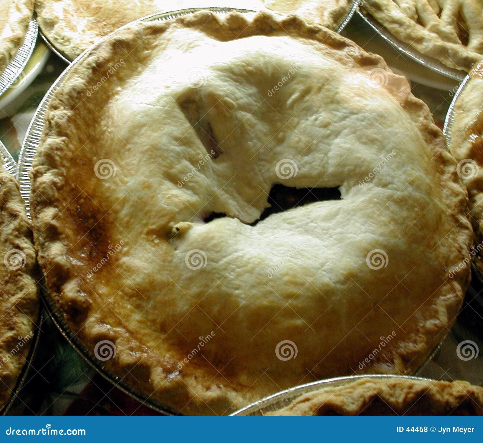 苹果节假日饼