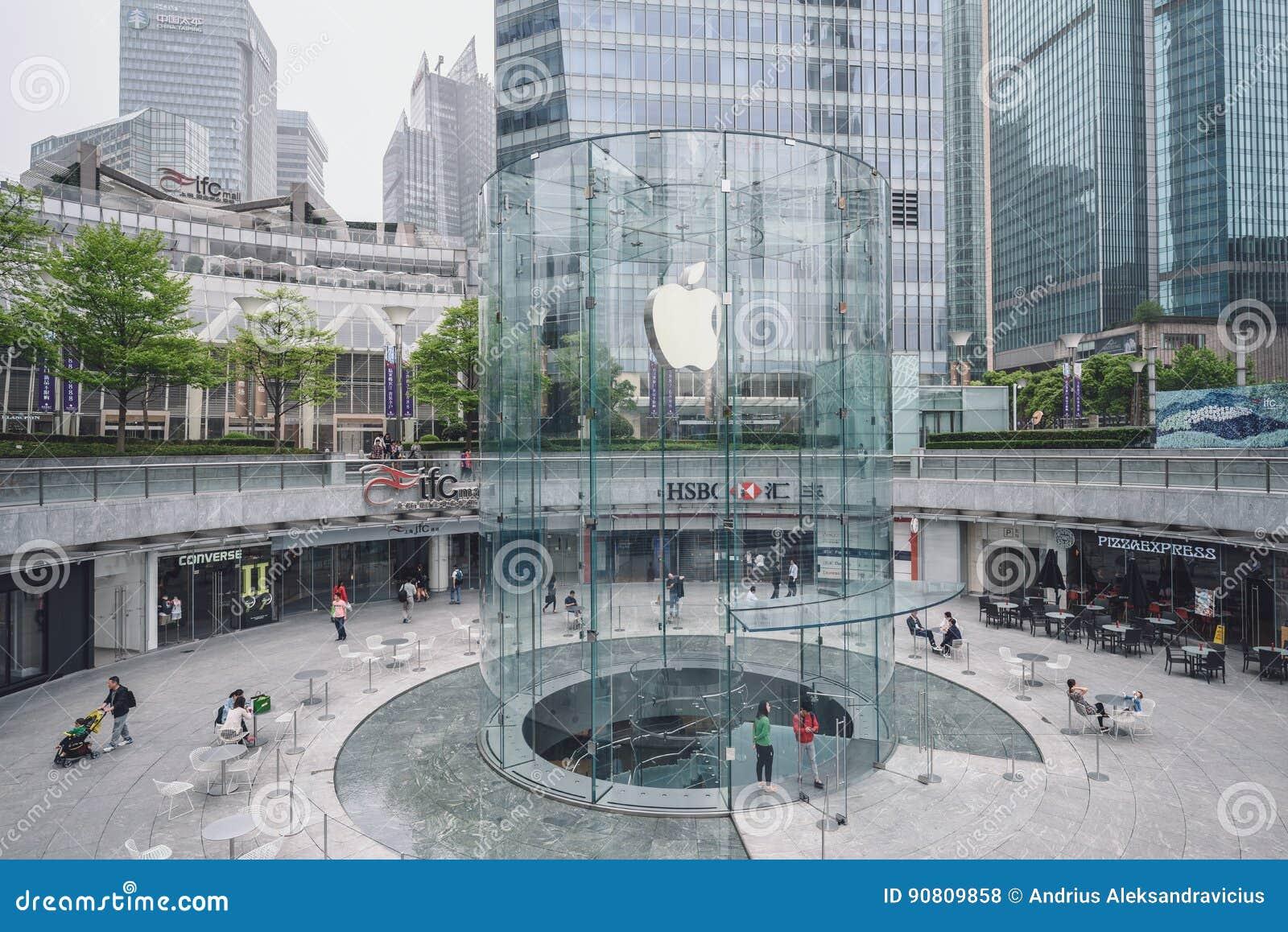 苹果计算机商店在上海,中国