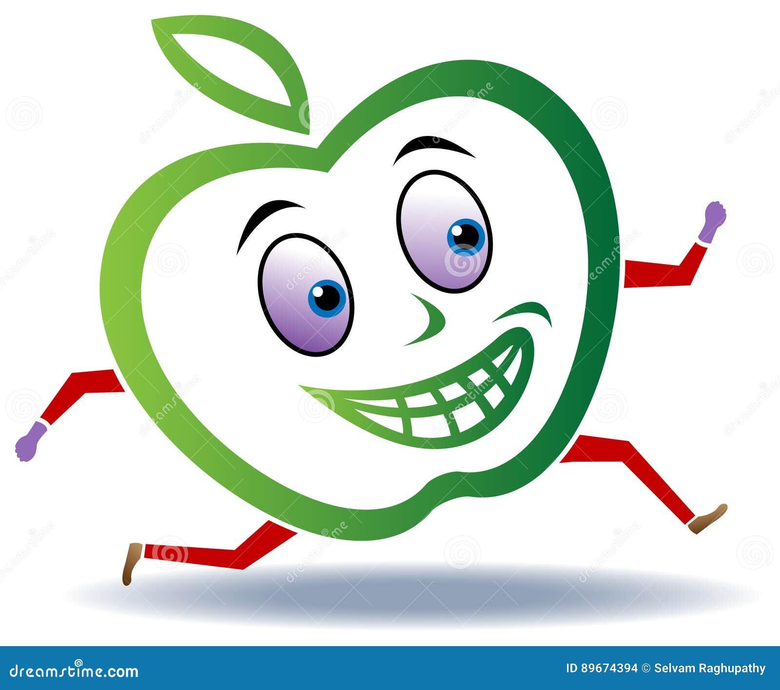 苹果计算机奔跑