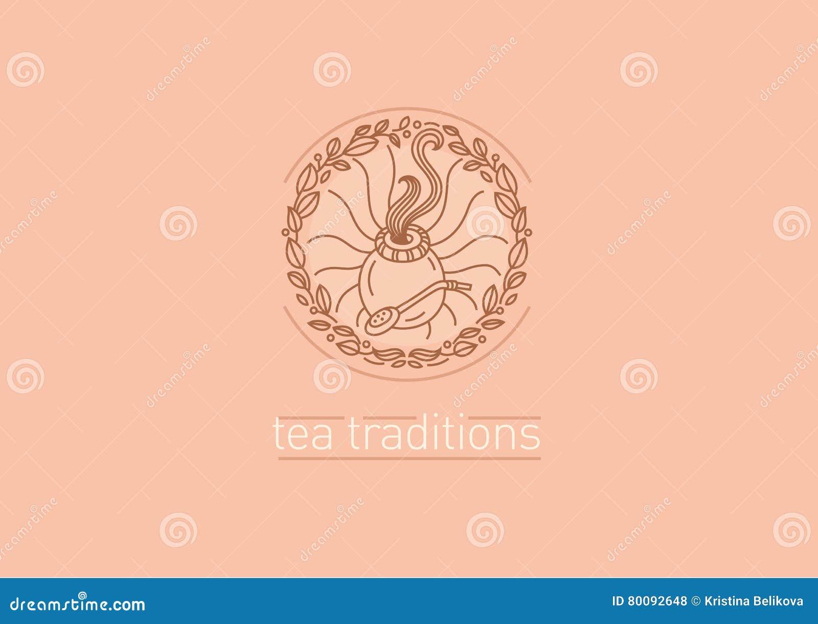 茶传统 茶叶和茶伙伴