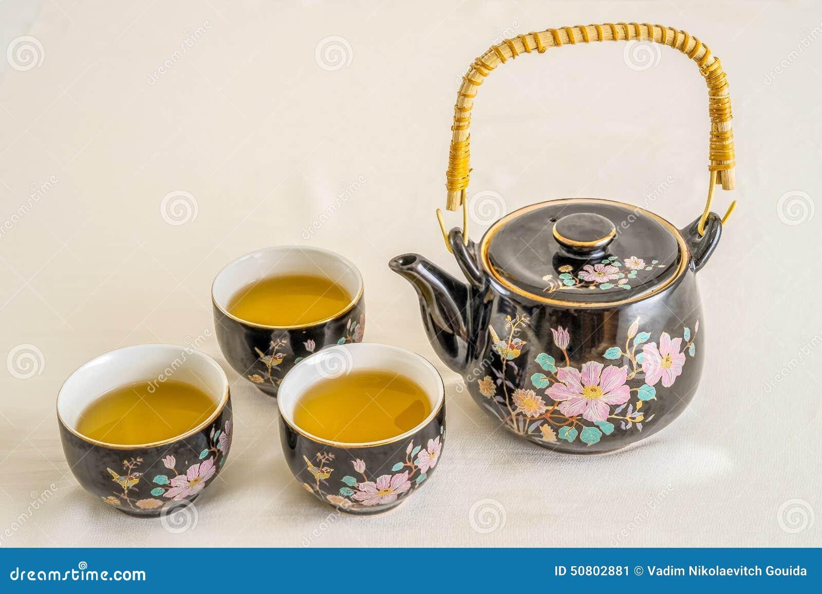 茶壶和茶杯图片