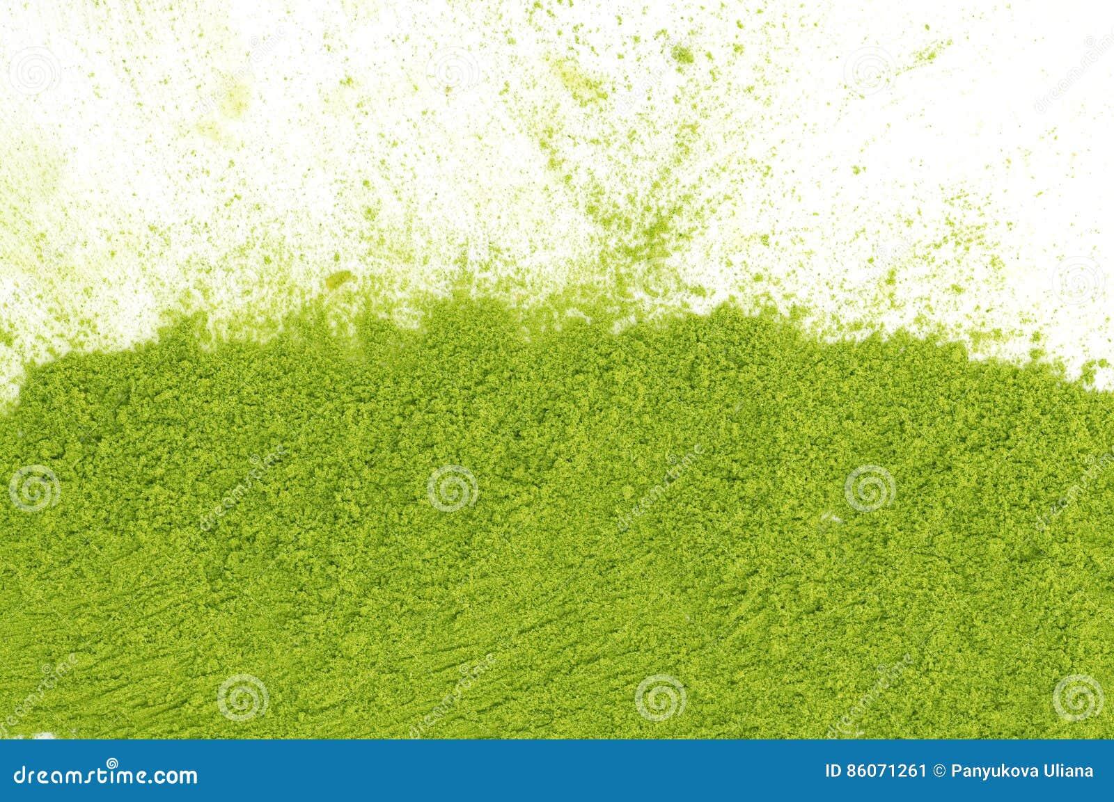 绿茶matcha粉末