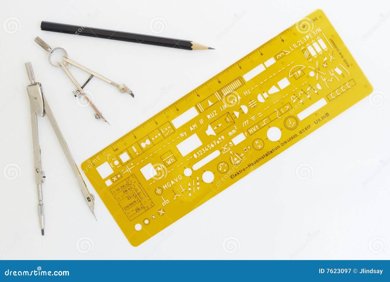 草拟的电子仪器钢板蜡纸