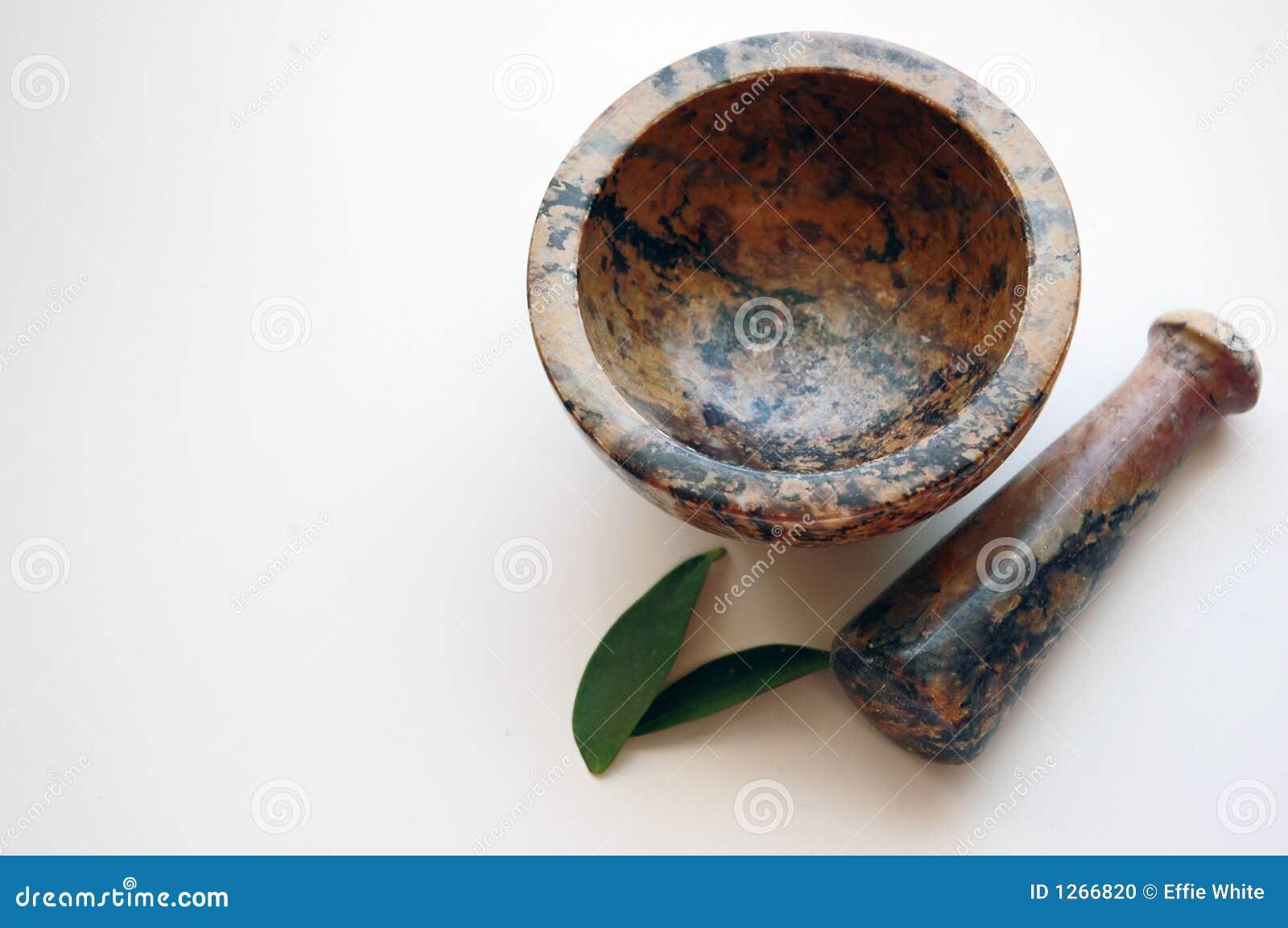 草本灰浆杵