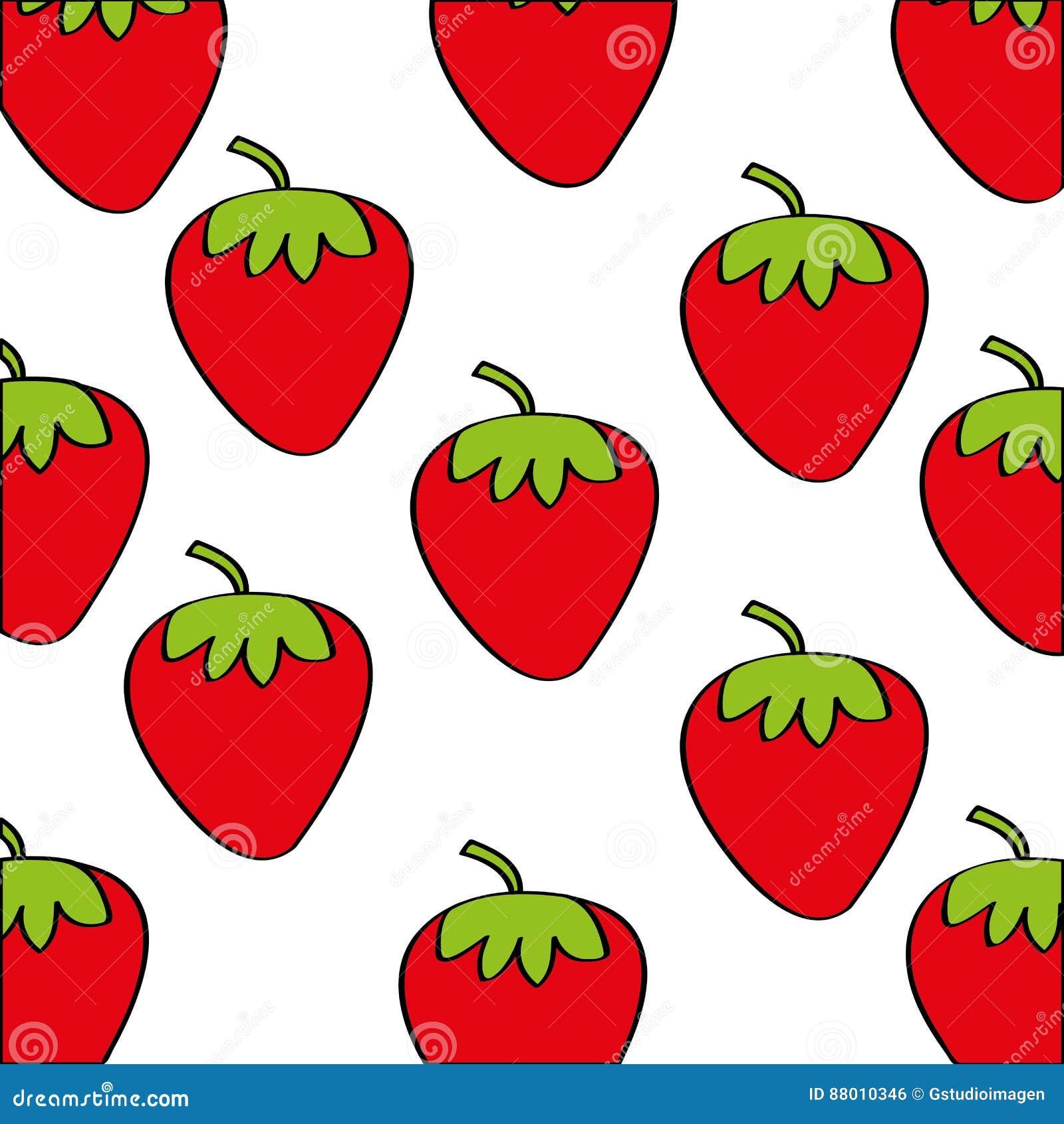 草莓仿造新鲜水果图画象