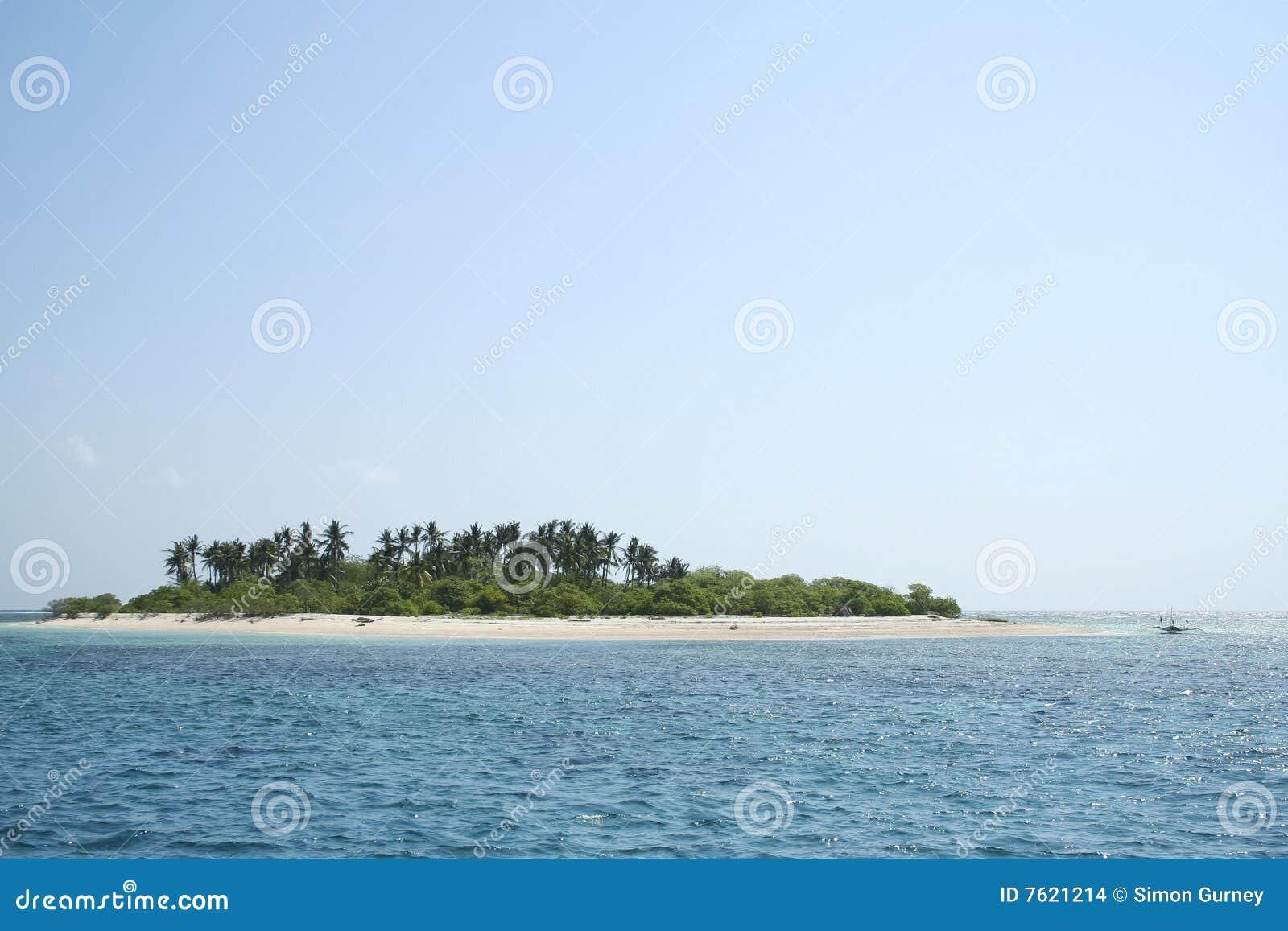 荒岛菲律宾天空
