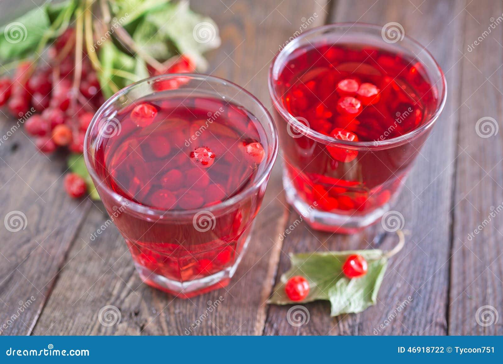 荚莲属的植物饮料