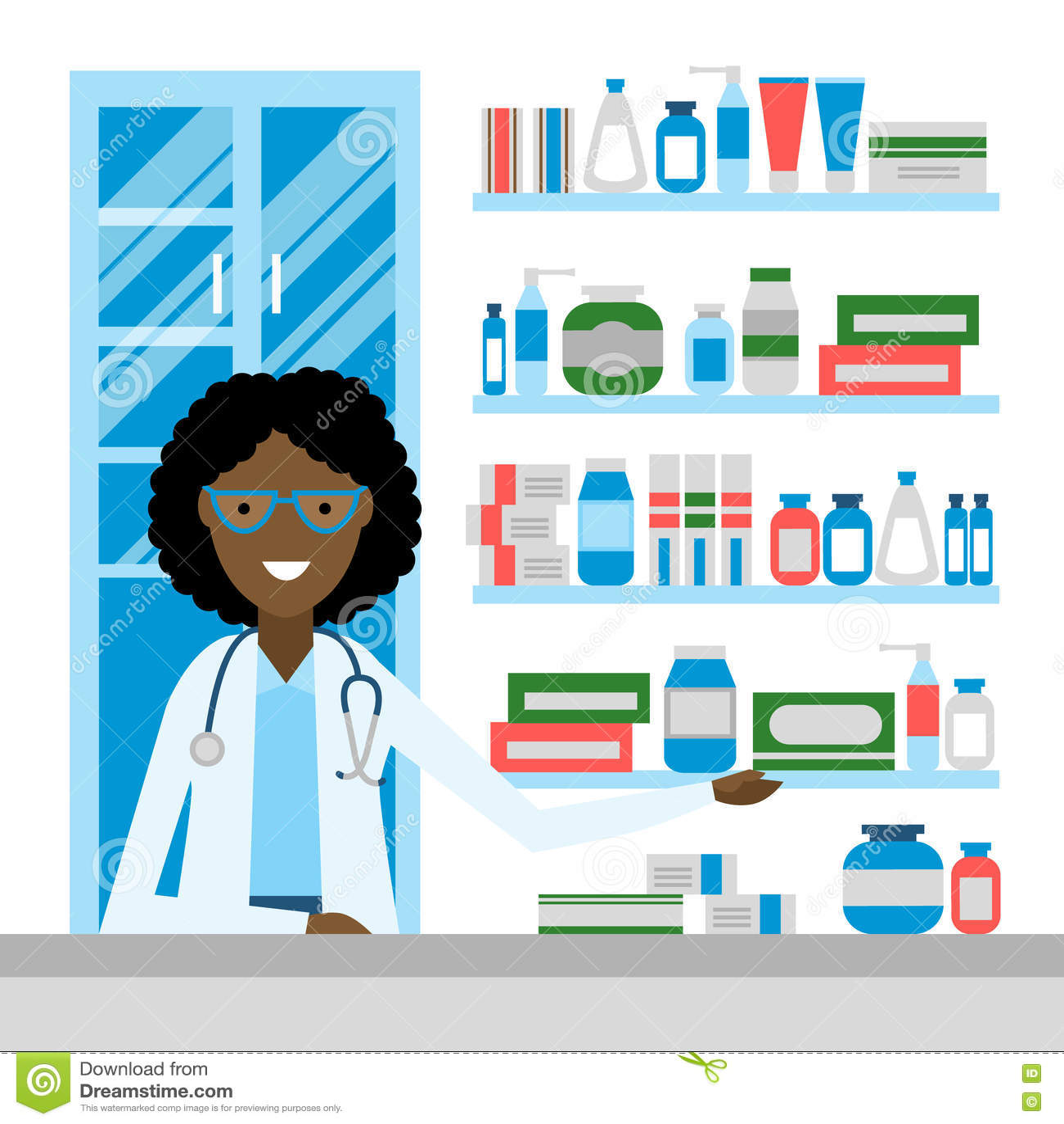 药店的药剂师