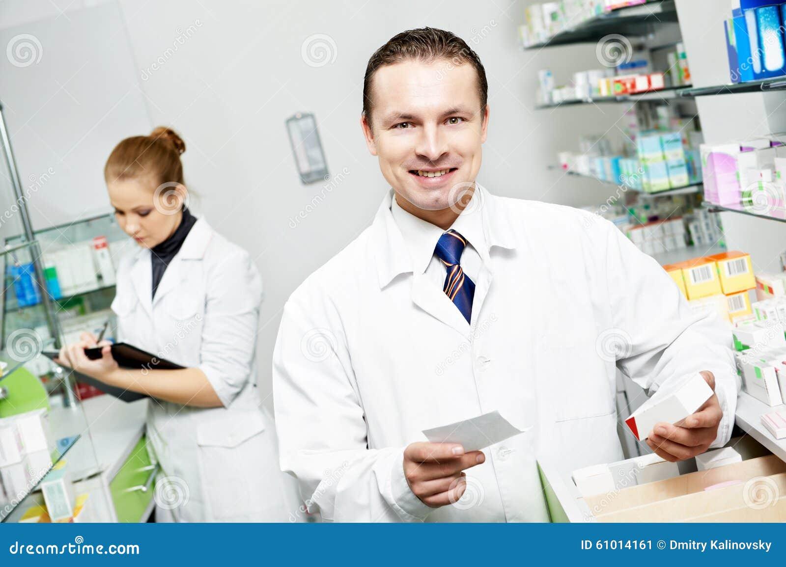 药房化学家人在药房