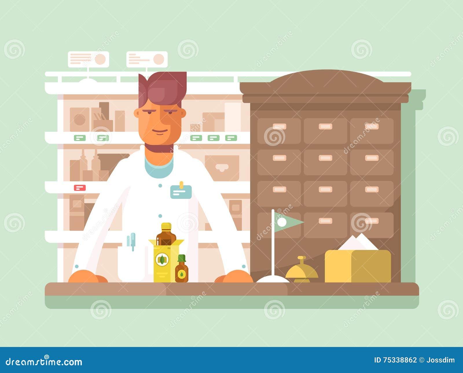 药房的药剂师