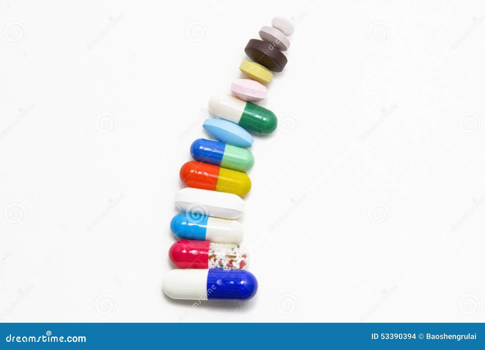 药片和胶囊