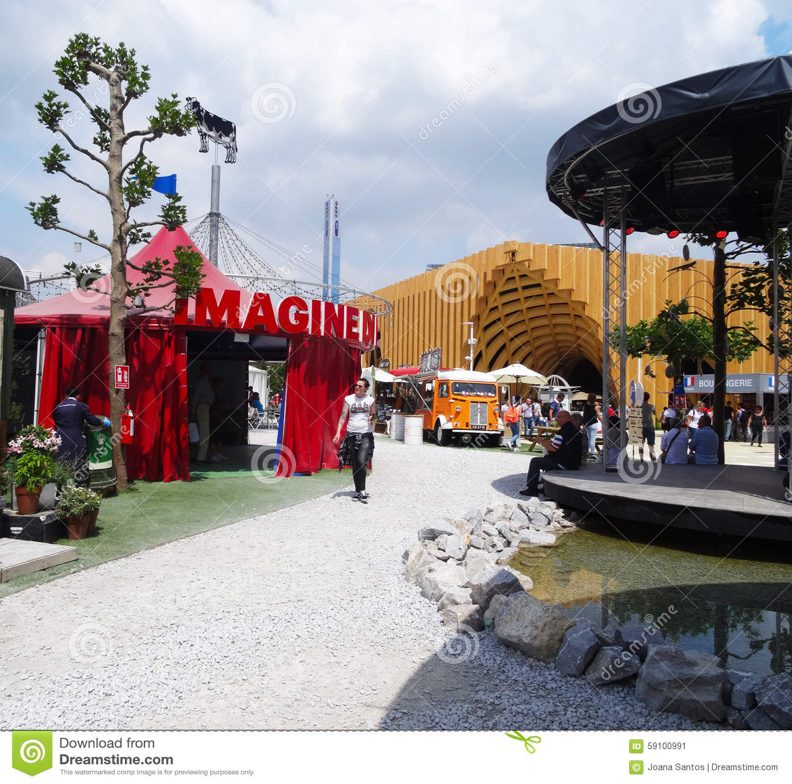 荷兰亭子,商展2015年