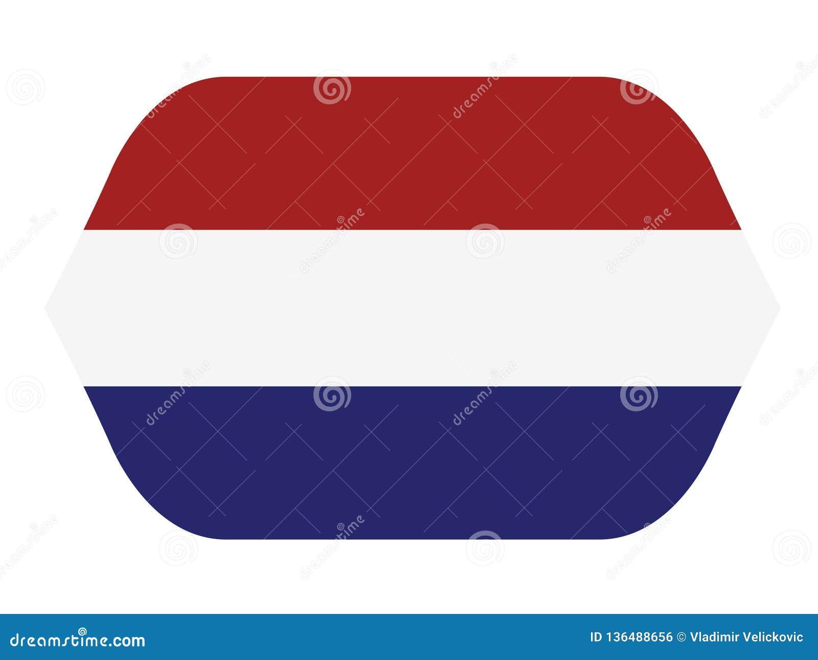 荷兰旗子-荷兰是主要位于欧洲西北部的国家