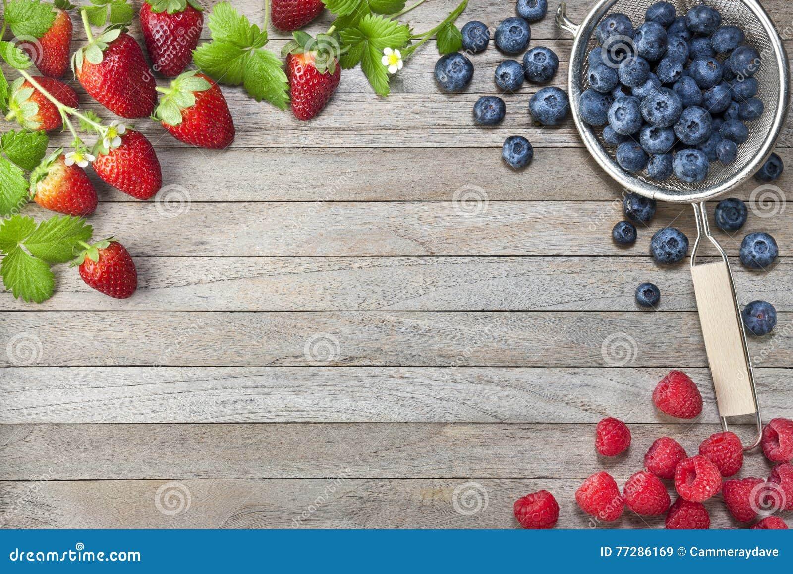 莓果草莓蓝莓莓背景