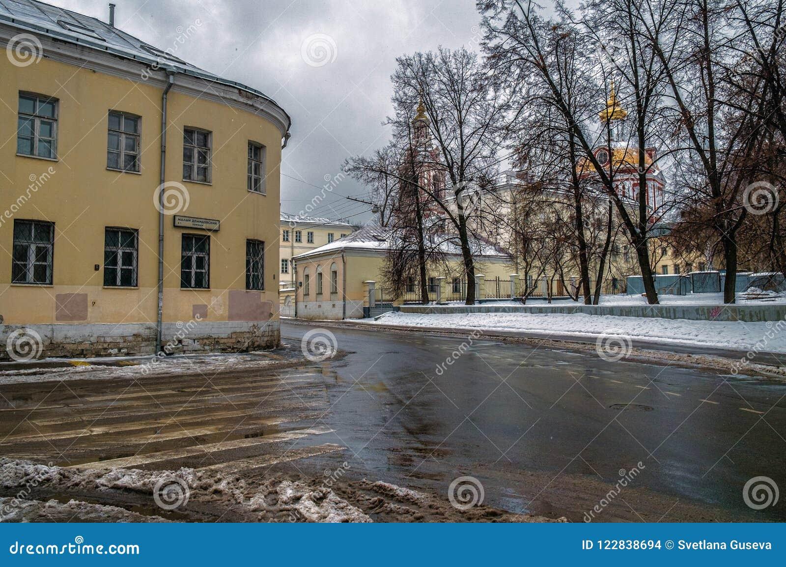 莫斯科街道 资本 俄国