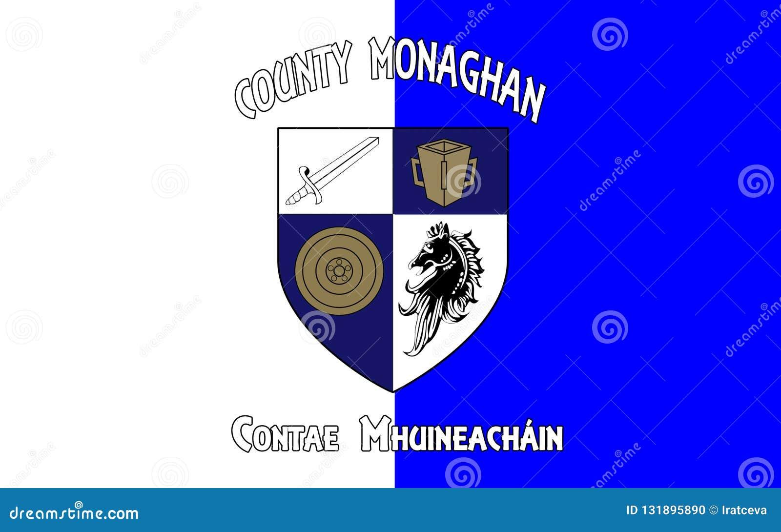 莫纳亨郡旗子是一个县在爱尔兰