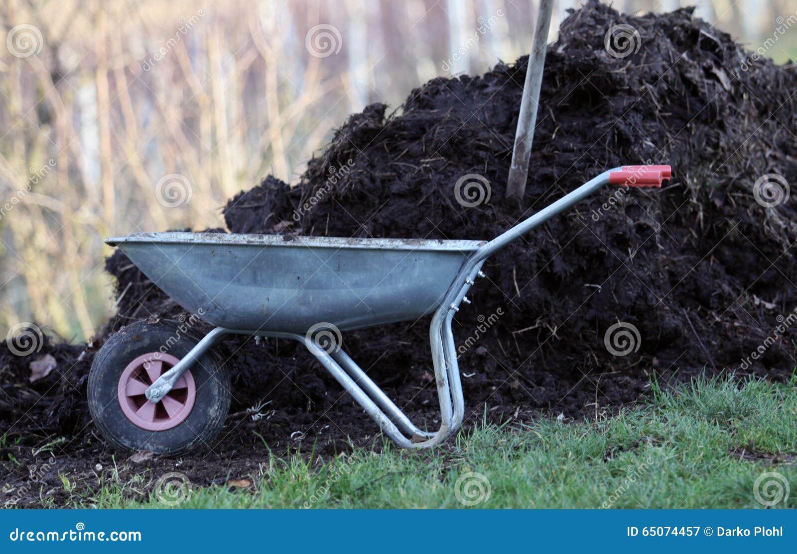 菜园的家庭肥料肥料