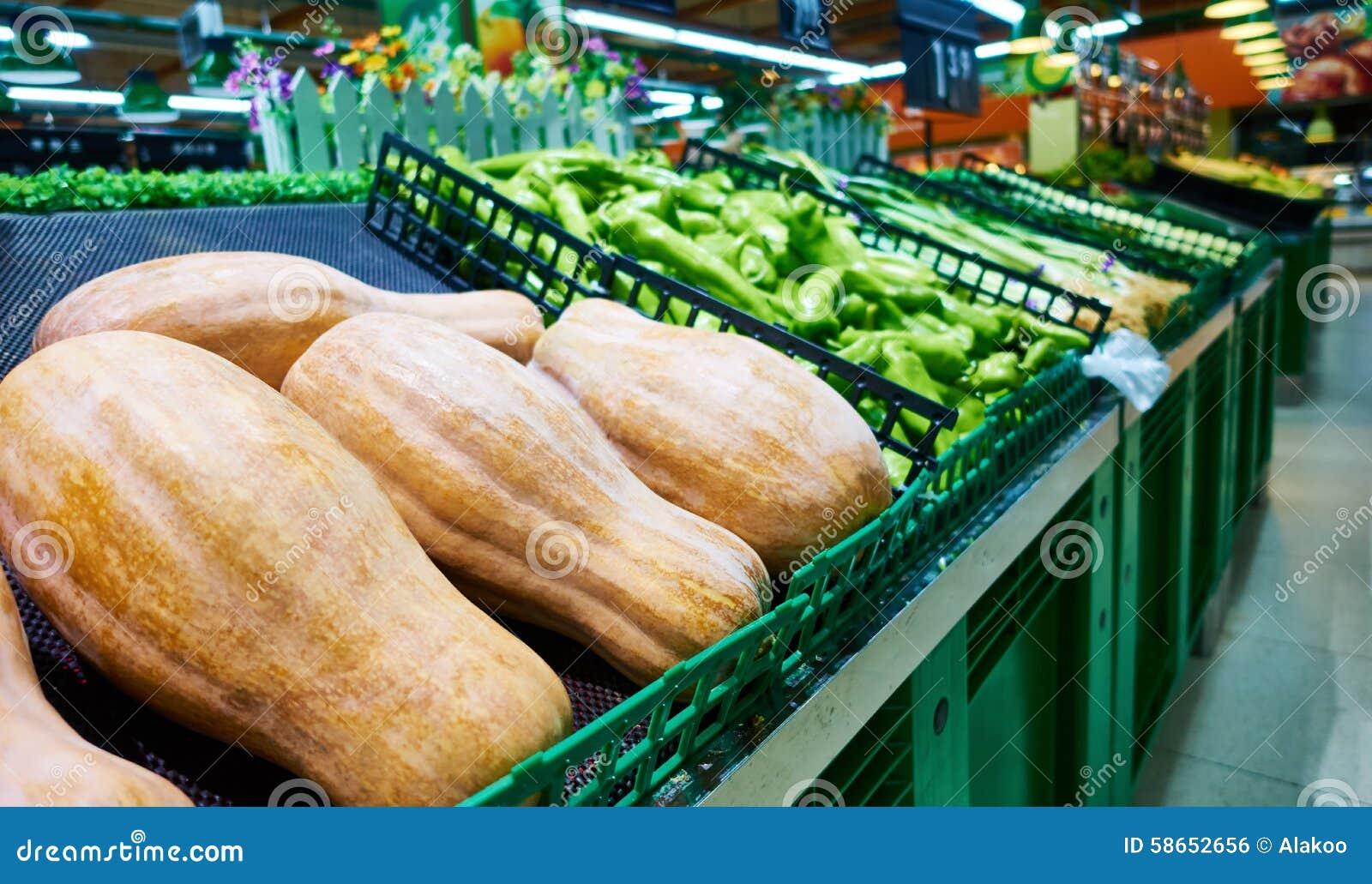 菜在超级市场