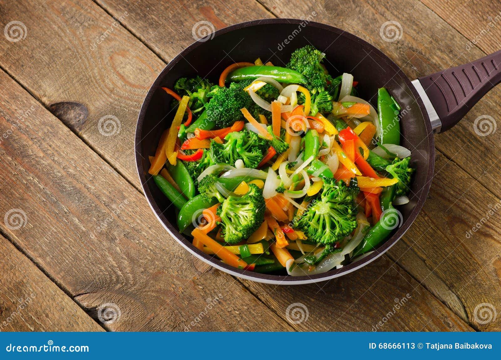 菜混乱油炸物 健康的食物