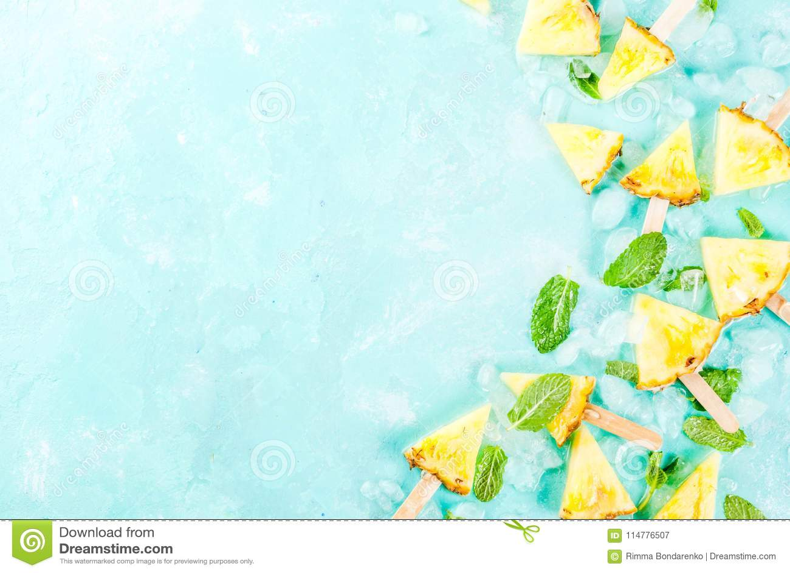 菠萝冰棍儿棍子