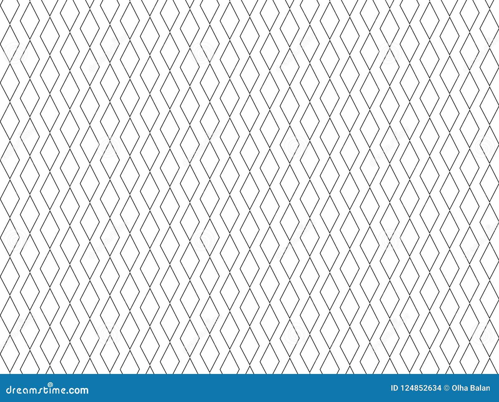菱形最小的领带印刷品