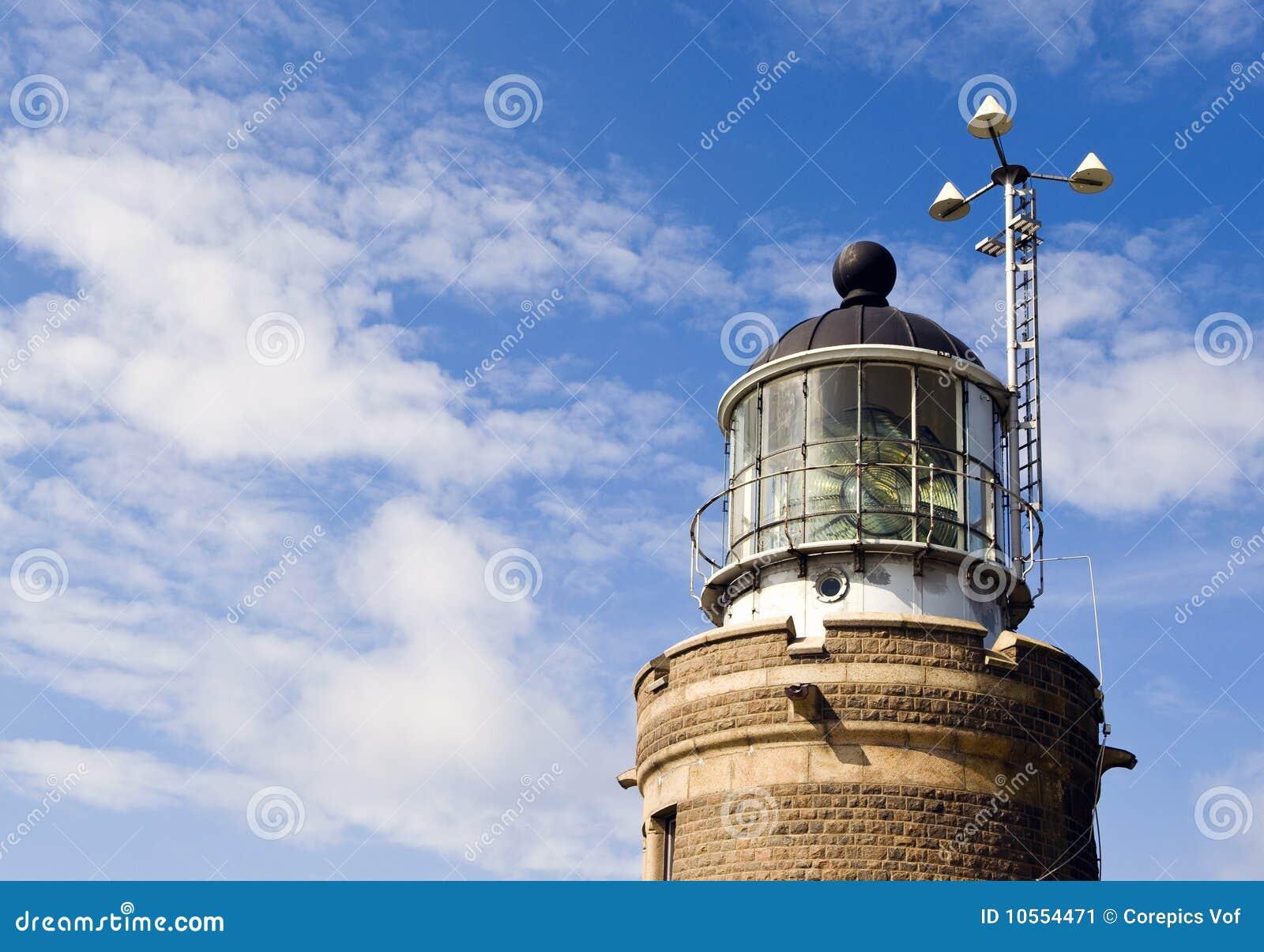 菲涅耳闪亮指示灯塔