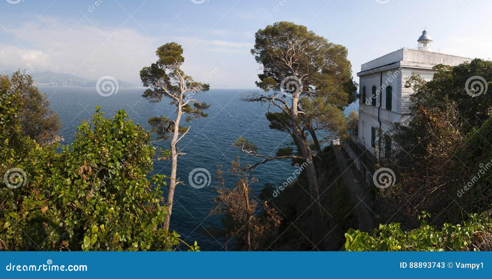 菲诺港,热那亚,利古里亚,意大利,意大利语里维埃拉,欧洲