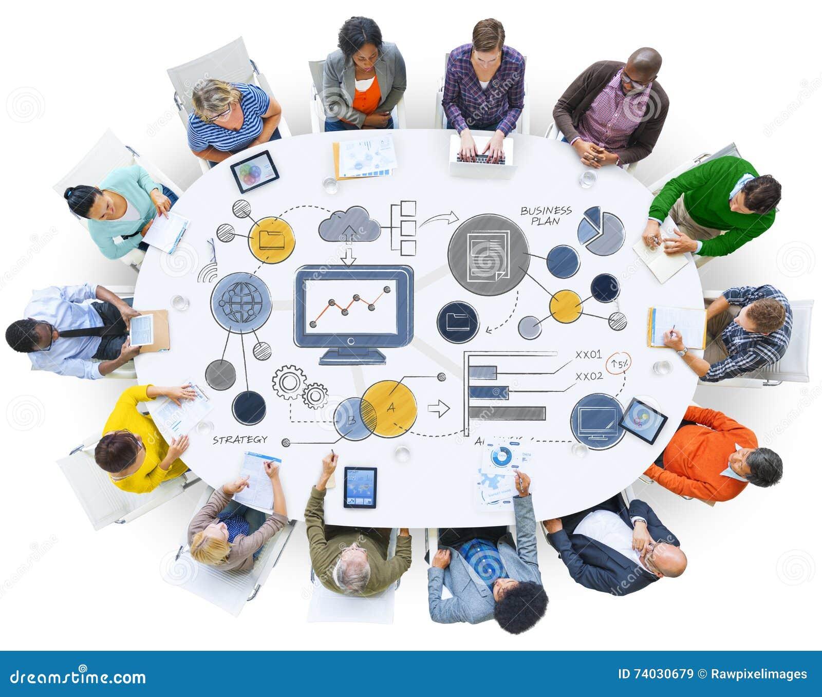 经营计划战略计划信息统计概念