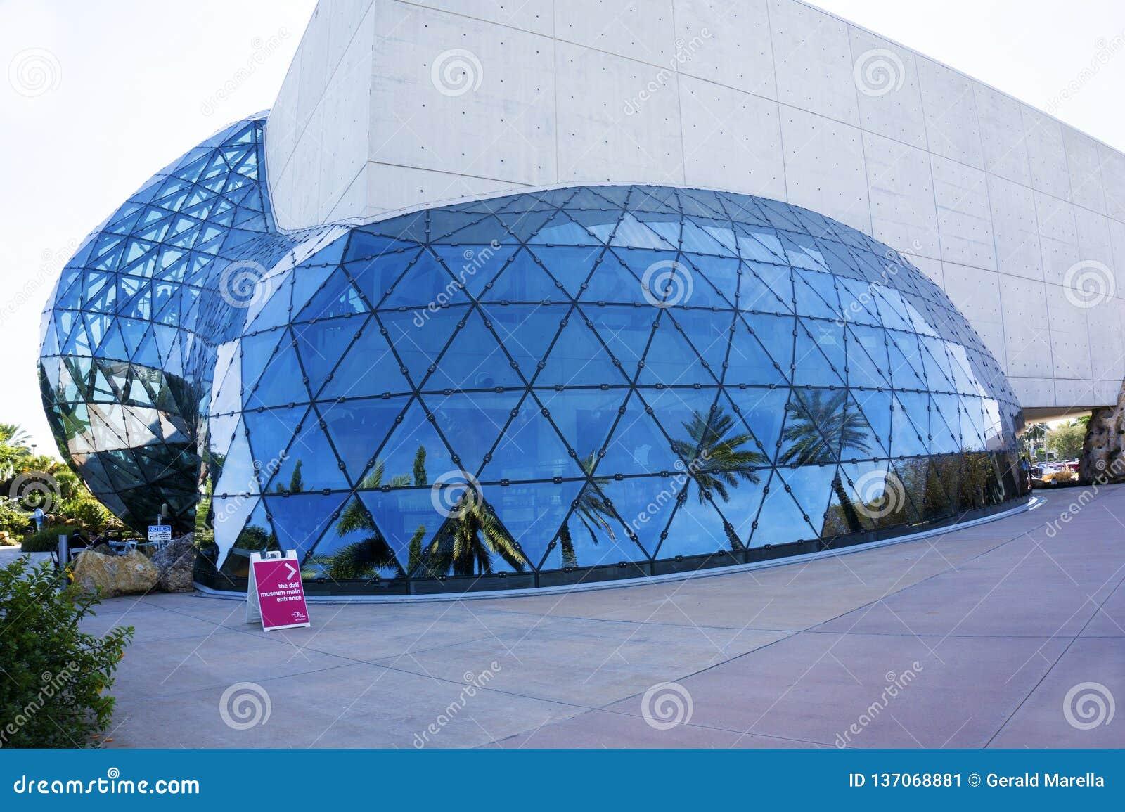 萨尔瓦多雷Dail博物馆在圣彼德堡,佛罗里达