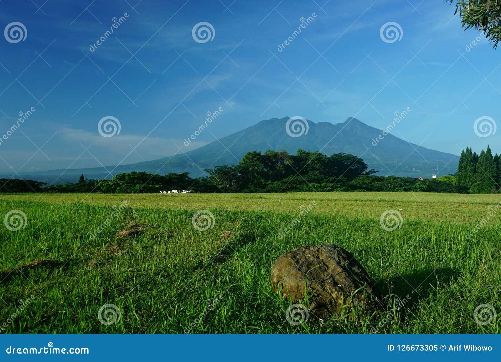 萨拉火山在茂物印度尼西亚
