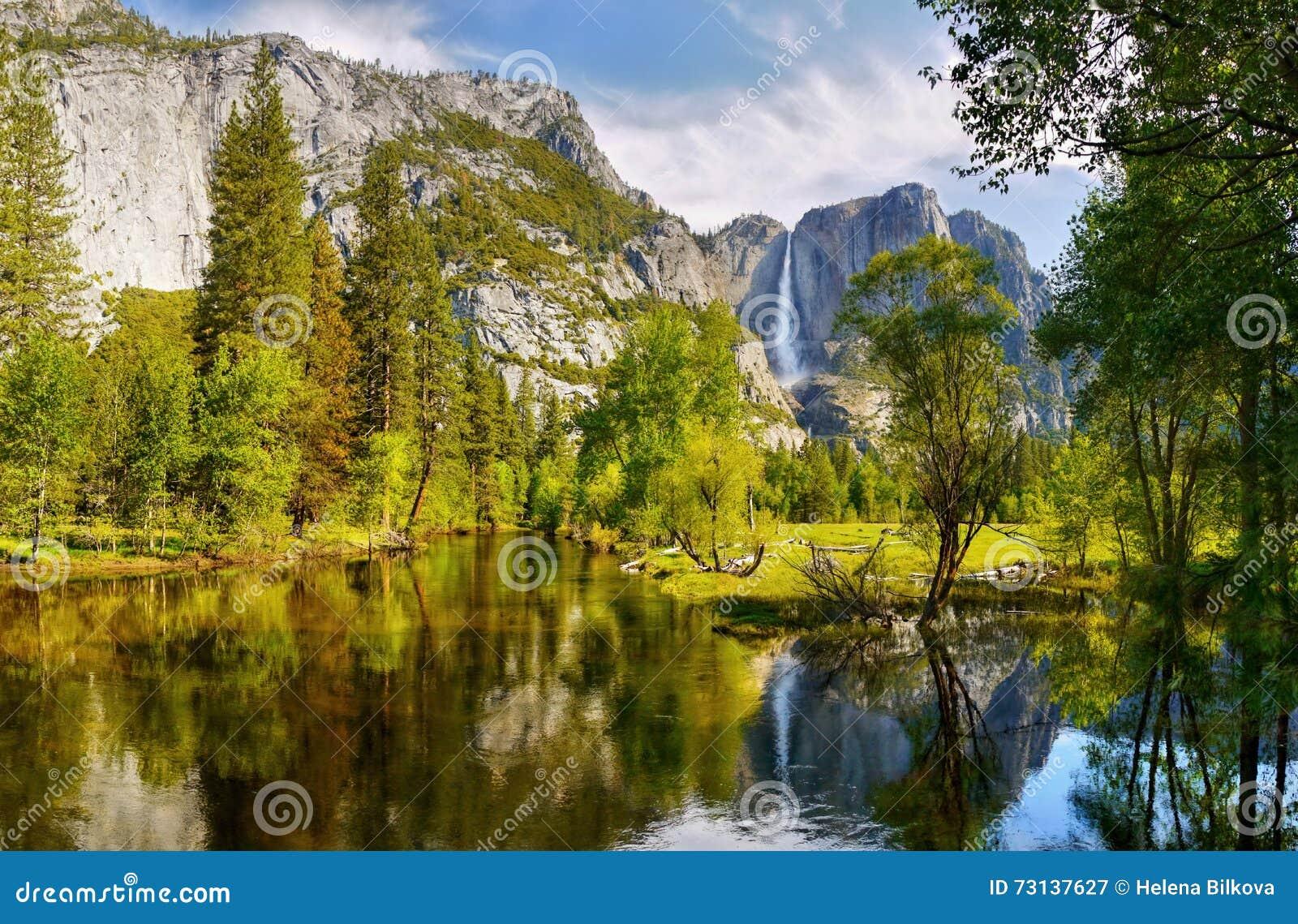 落国家公园优胜美地