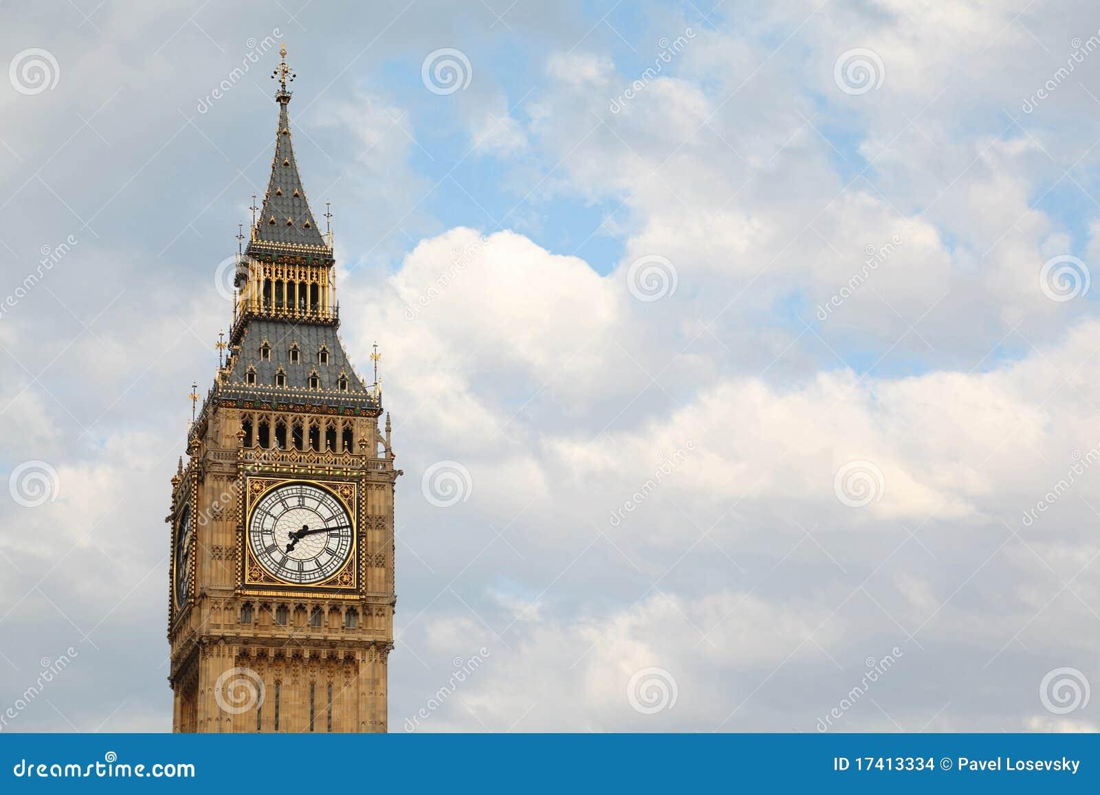 著名本大时钟的英语