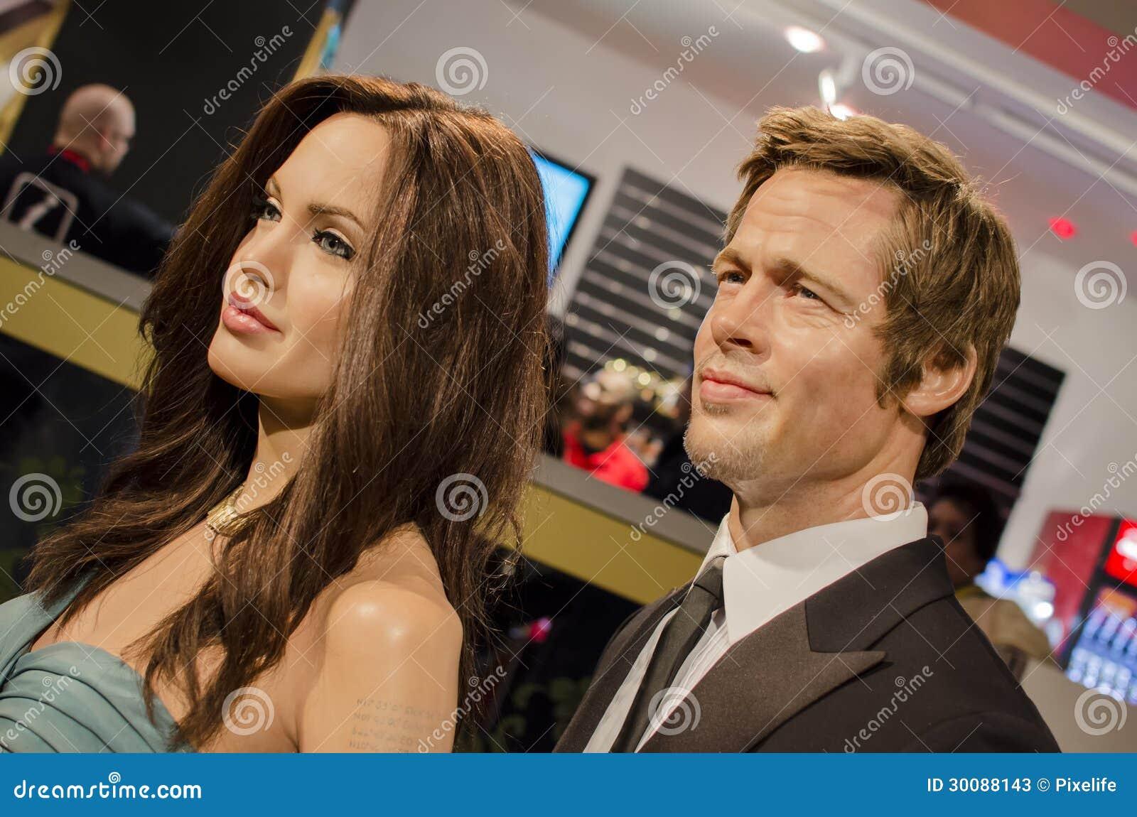 Angelina Jolie和Brad Pitt