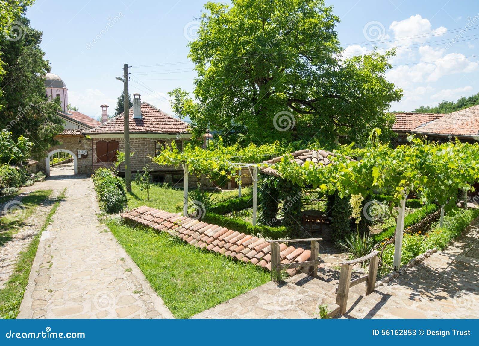 葡萄园在圣尼古拉斯修道院里