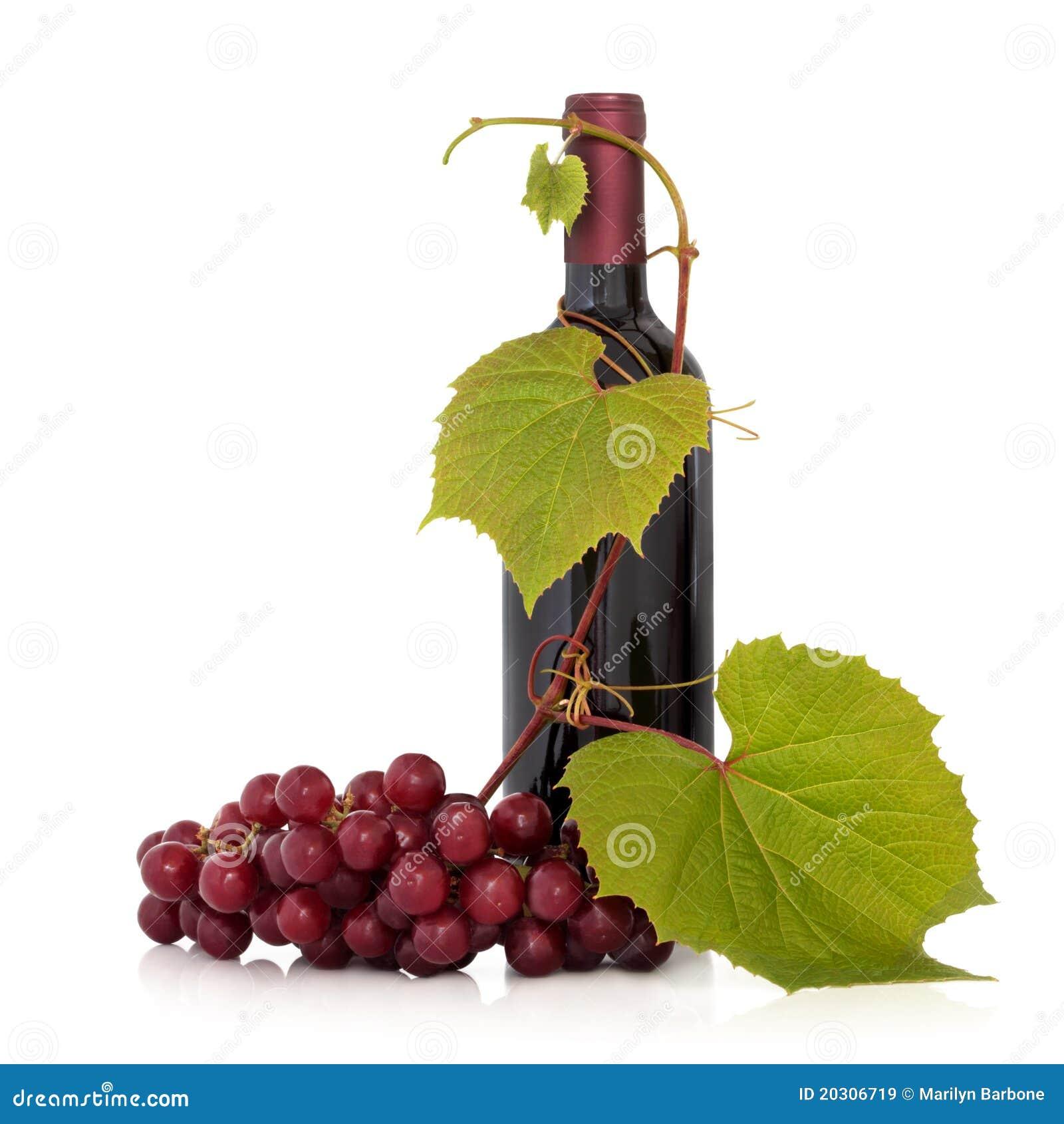 葡萄红色藤酒