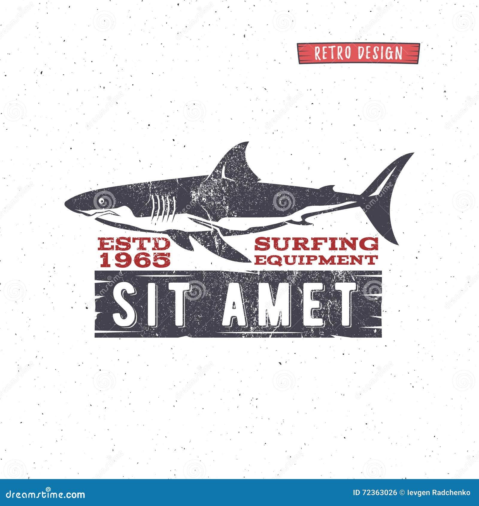 葡萄酒冲浪的商店徽章设计 海浪齿轮网络设计或印刷品的商店象征