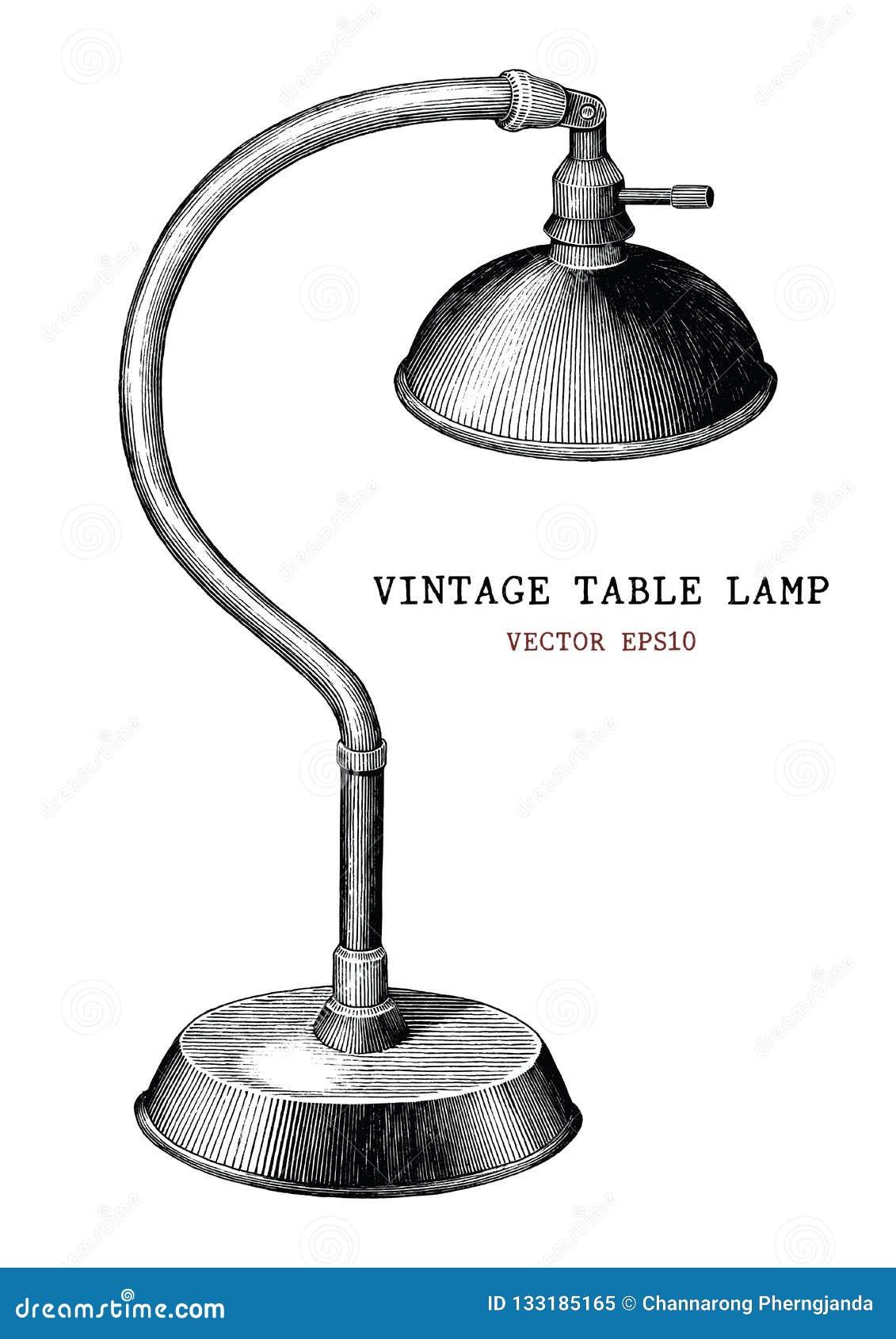 葡萄酒台灯手刻记古色古香的样式iso的凹道葡萄酒