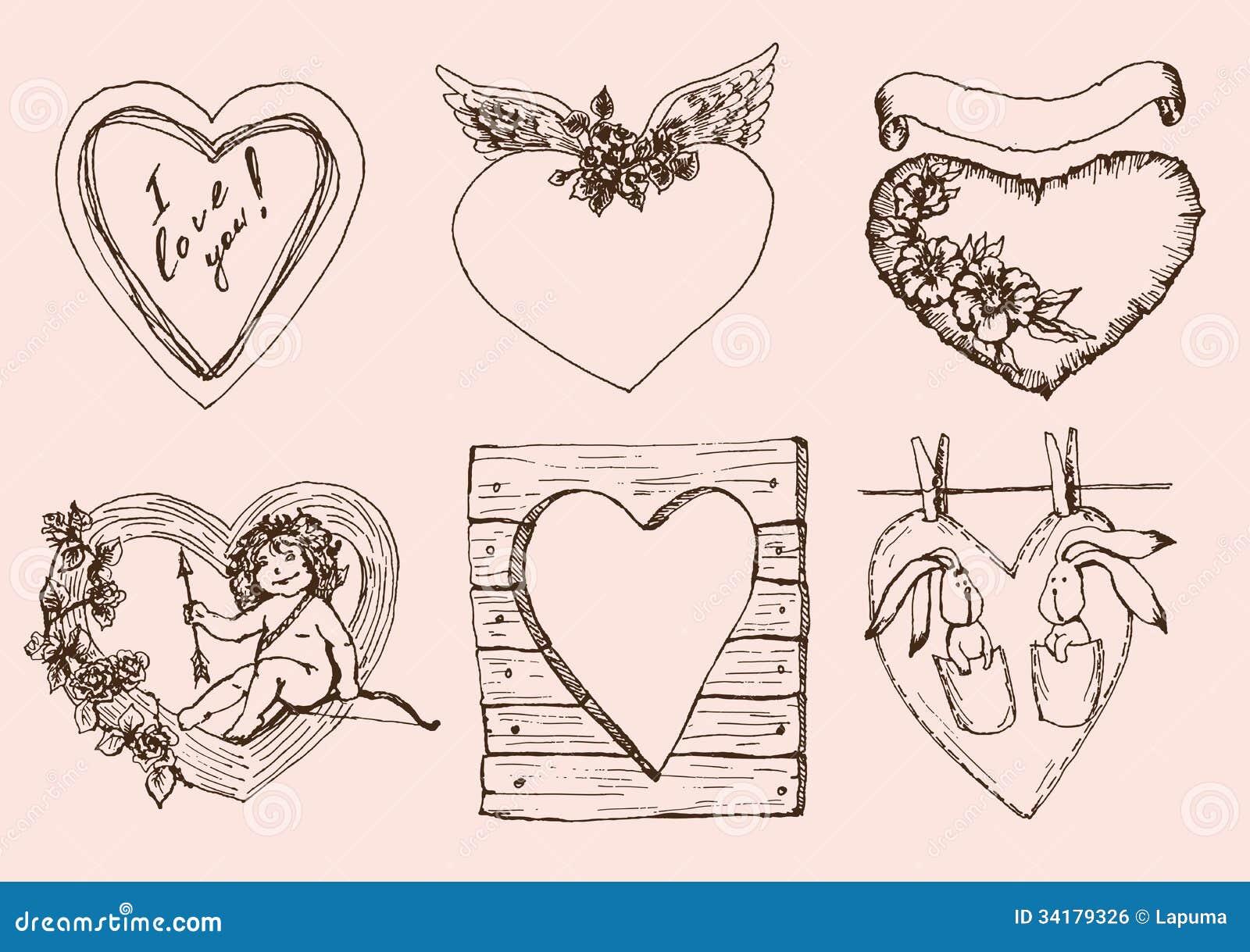 葡萄酒心脏为情人节图片