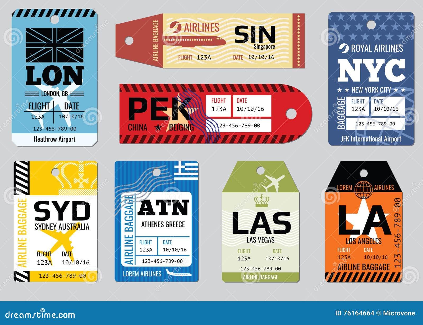 葡萄酒行李标记,旅行标记传染媒介集合