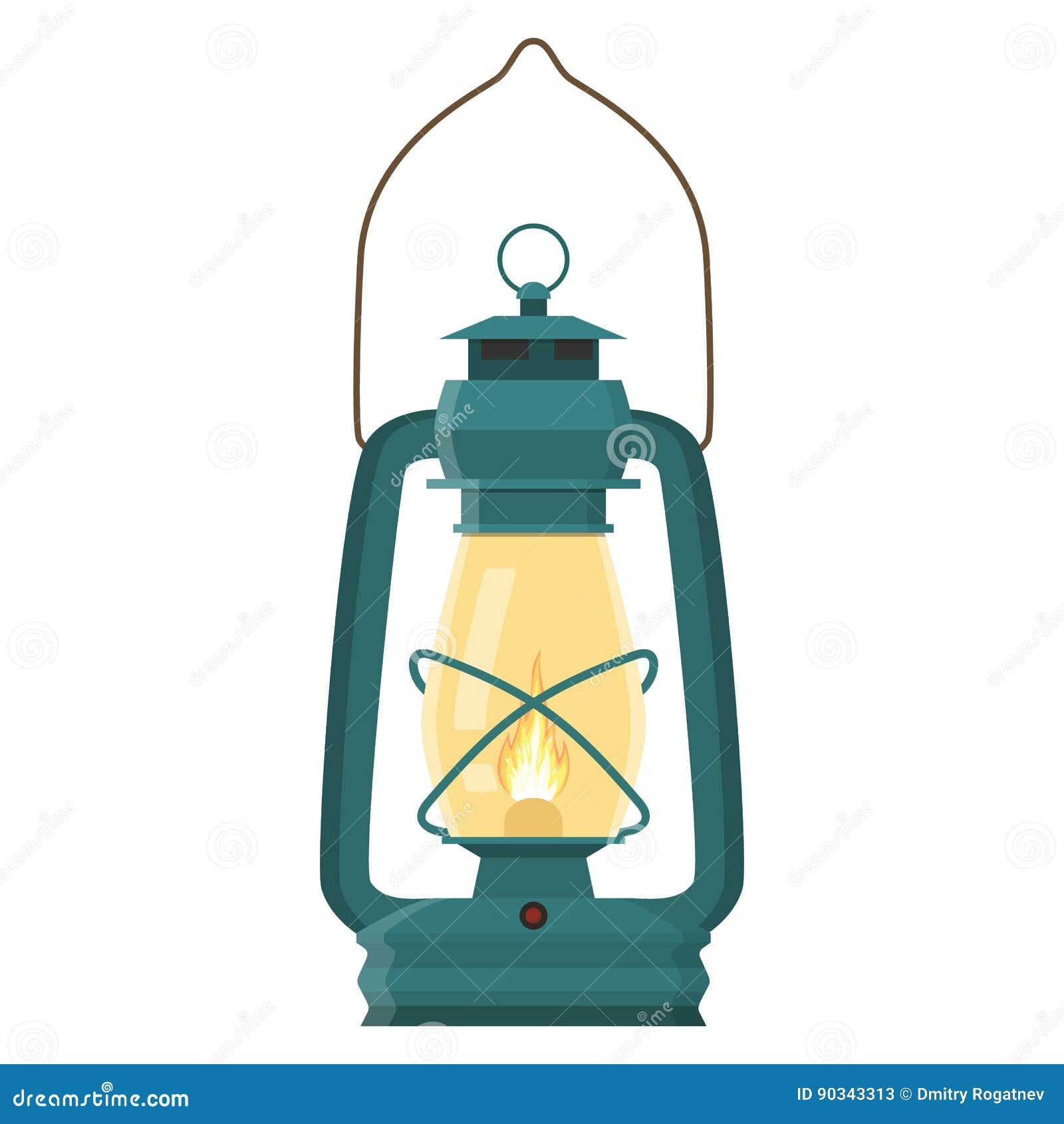 葡萄酒野营的灯笼