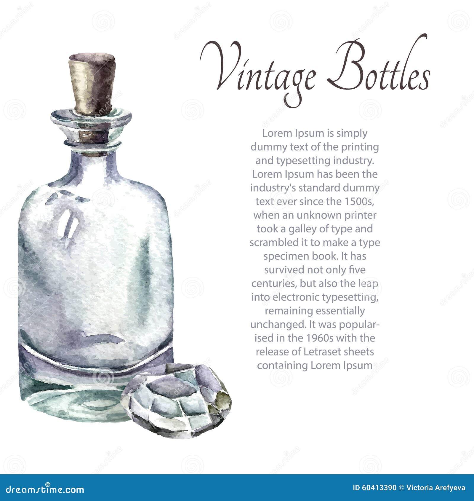 葡萄酒香水瓶