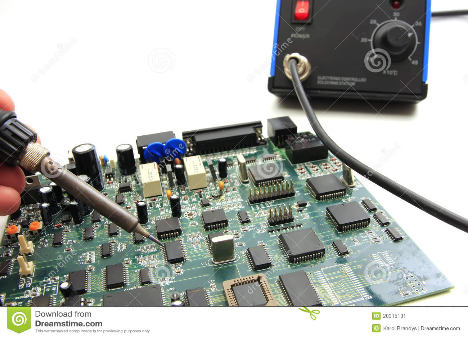 董事会电路焊接
