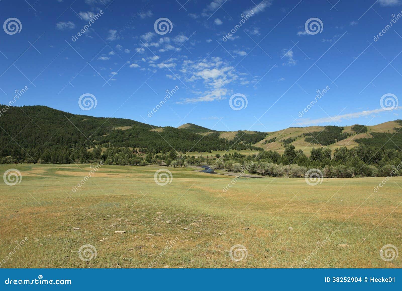 蒙古风景和自然