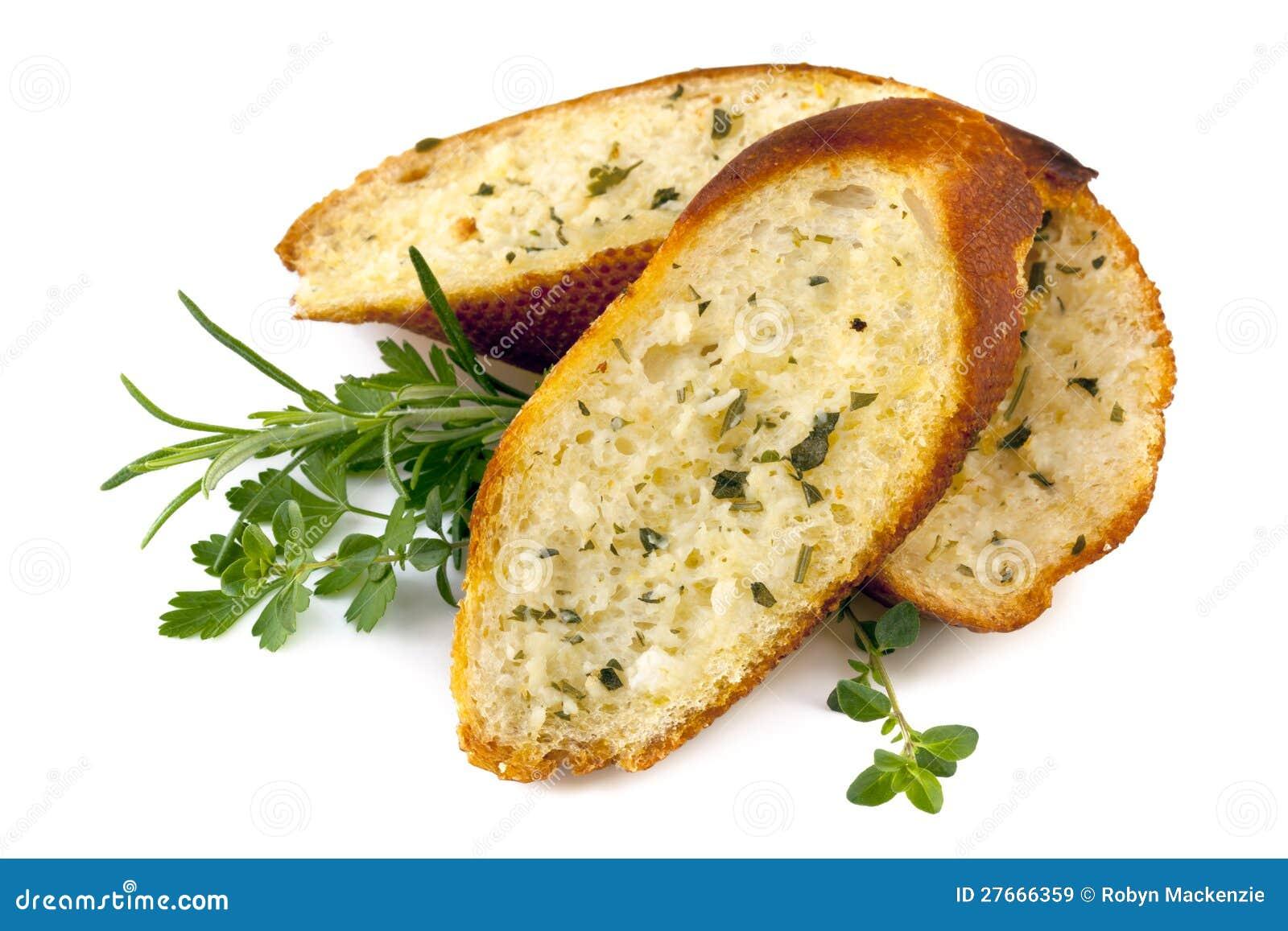 蒜味面包用草本