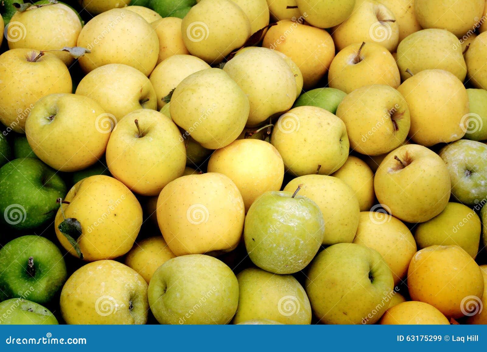 蒲式耳黄色苹果
